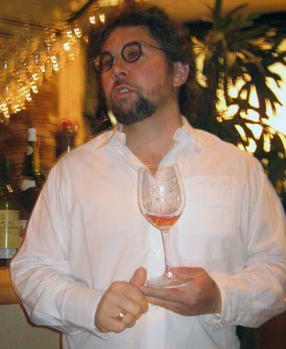 Winemaker Sashi Moorman at Vino 4/7/09