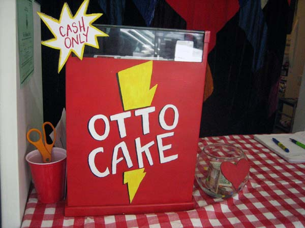Ottocake's analog cash register, courtesy of Craig's List