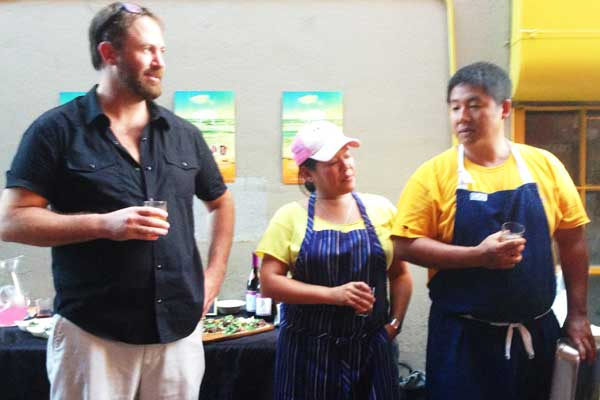 Cochon 555 founder Brady Lowe and chefs Lee Ann Wong and Mark Noguchi talk pig.